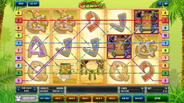 Изображение игрового автомата Gorila Gambila 2