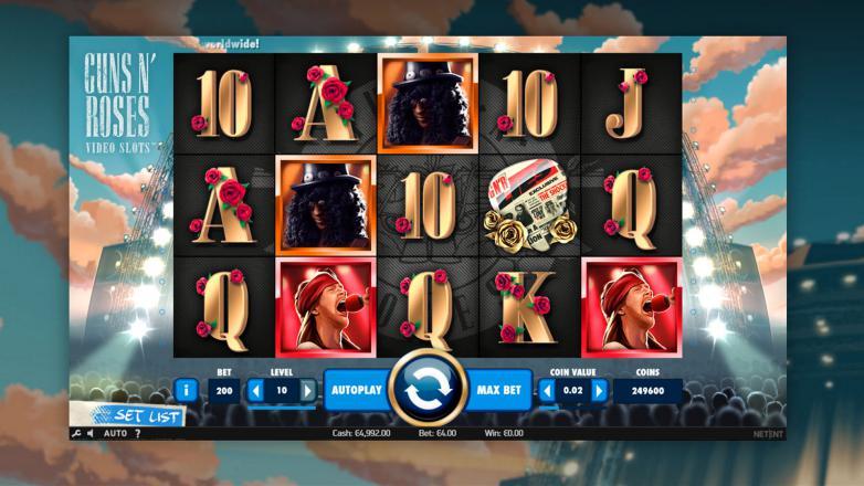 Изображение игрового автомата Guns'n'Roses 2