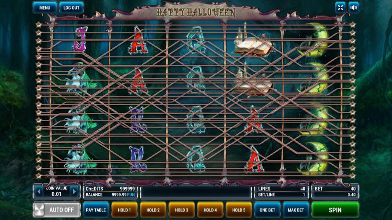 Изображение игрового автомата Halloween 1
