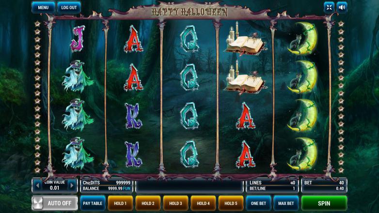 Изображение игрового автомата Halloween 2