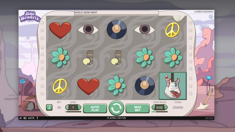 Изображение игрового автомата Jimi Hendrix 1