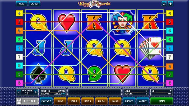 Изображение игрового автомата King of Cards 1