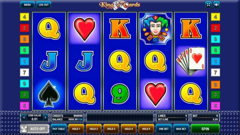 Изображение игрового автомата King of Cards 2