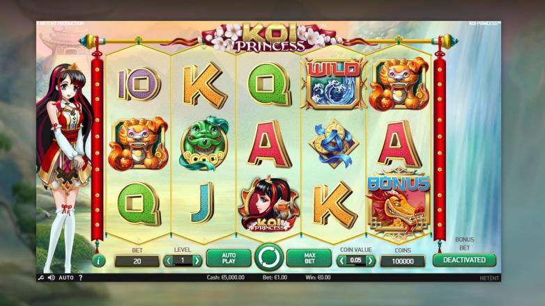 Изображение игрового автомата Koi Princess 1