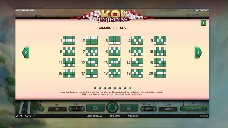 Изображение игрового автомата Koi Princess 3