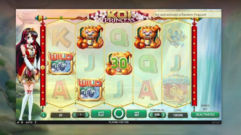 Изображение игрового автомата Koi Princess 2