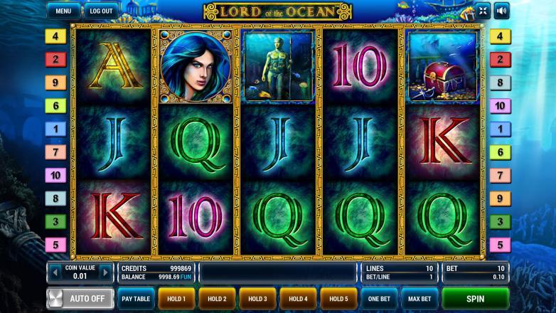 Изображение игрового автомата Lord of the Ocean 2