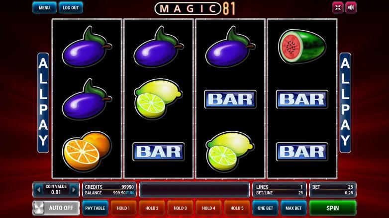 Изображение игрового автомата Magic 81 1