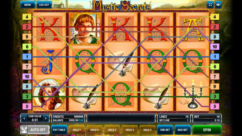 Изображение игрового автомата Mystic Secrets 1