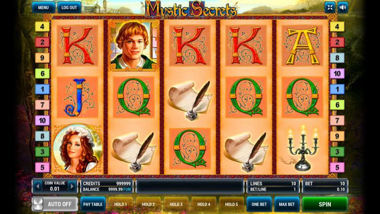 Изображение игрового автомата Mystic Secrets 2