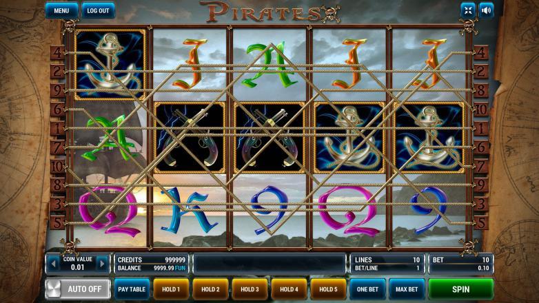 Изображение игрового автомата Pirates 1