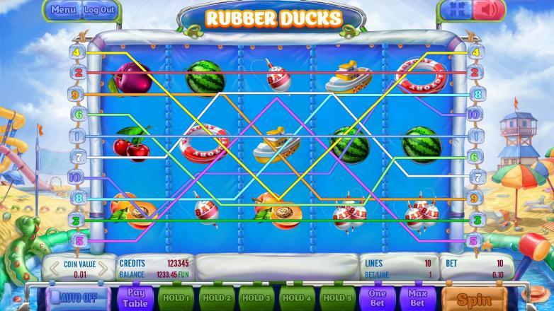 Изображение игрового автомата Rubber Ducks 1
