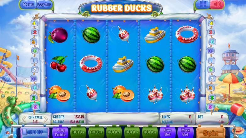 Изображение игрового автомата Rubber Ducks 2