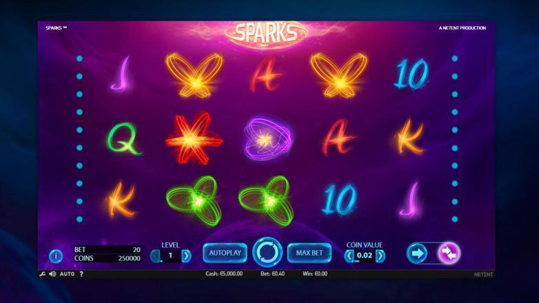 Изображение игрового автомата Sparks 1