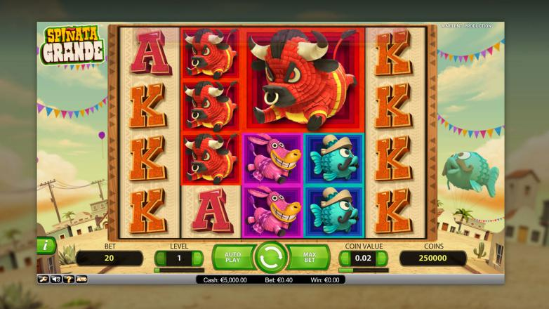 Изображение игрового автомата Spinata Grande 1