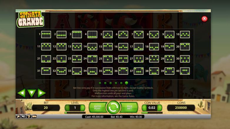 Изображение игрового автомата Spinata Grande 3