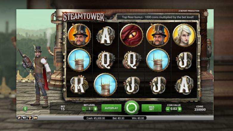 Изображение игрового автомата Steam Tower 1