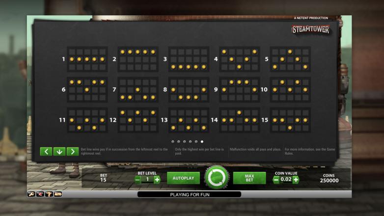 Изображение игрового автомата Steam Tower 3