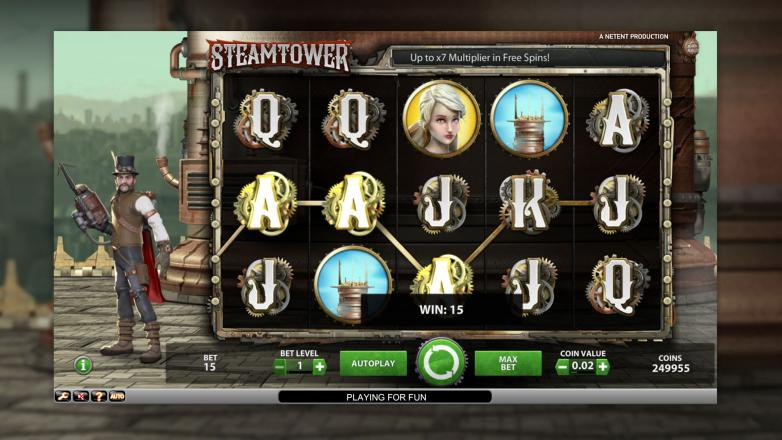 Изображение игрового автомата Steam Tower 2