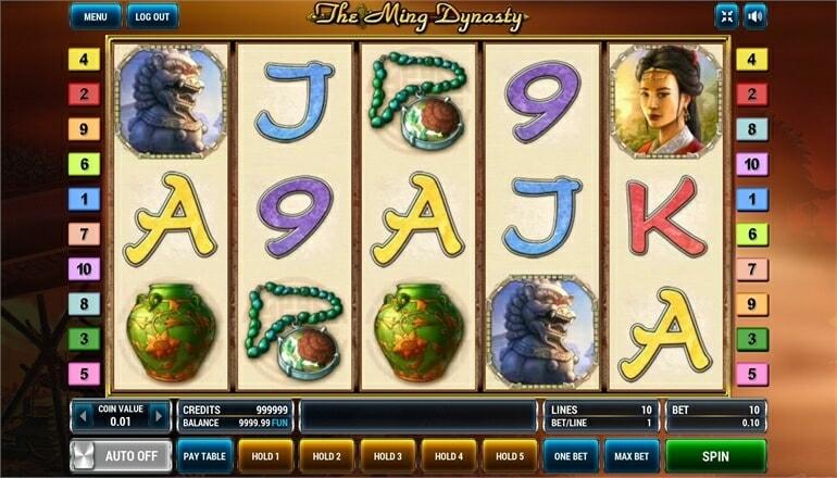 Изображение игрового автомата The Ming Dynasty 2