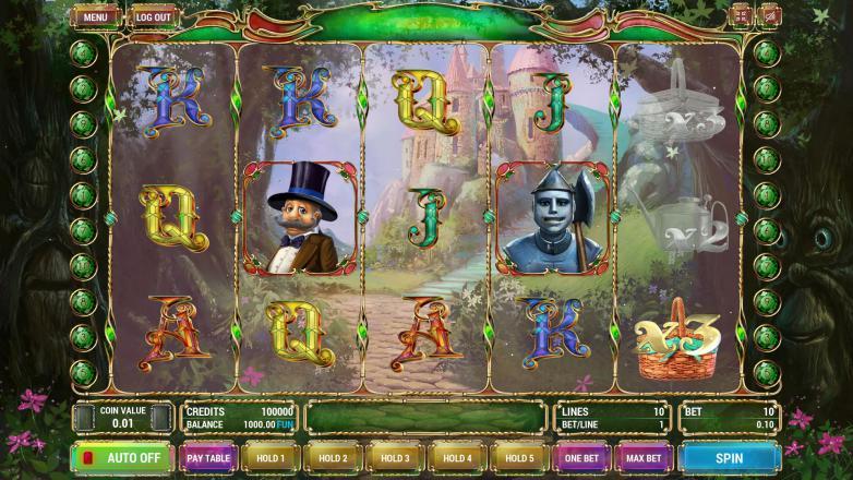 Изображение игрового автомата The Wizard of Oz 2