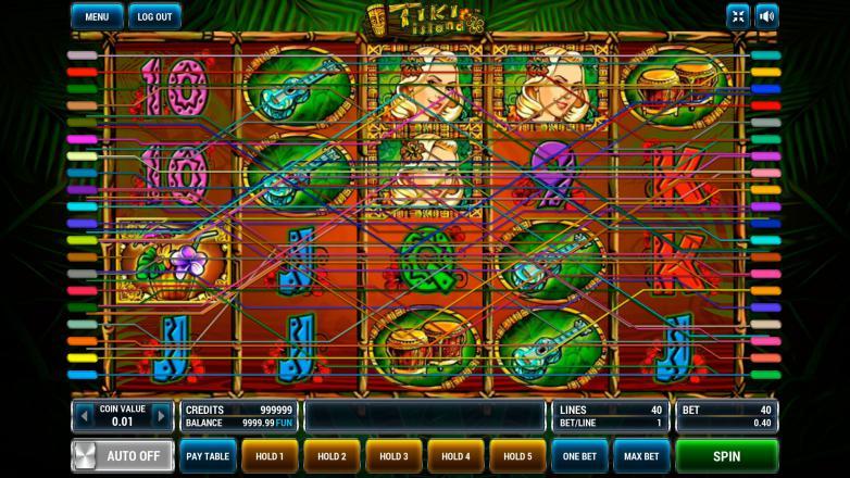 Изображение игрового автомата Tiki Island 1