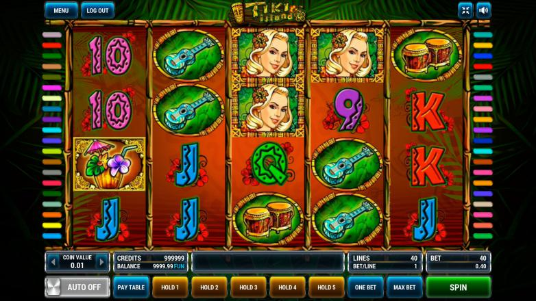 Изображение игрового автомата Tiki Island 2