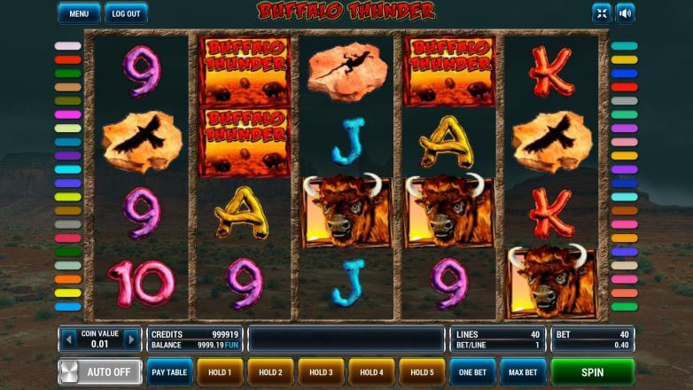 Изображение игрового автомата Buffalo Thunder 2