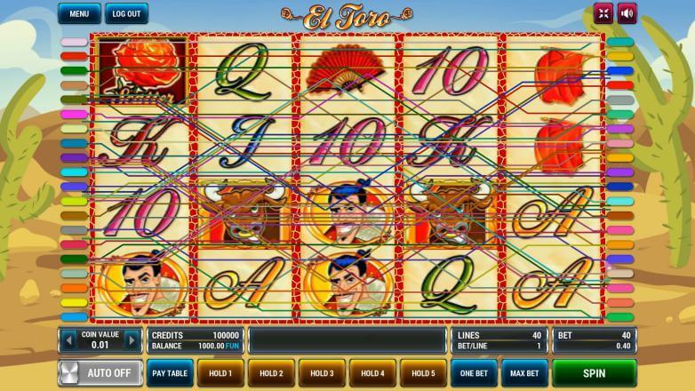 Изображение игрового автомата El Toro 1