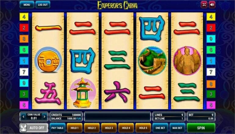Изображение игрового автомата Emperor's China 2