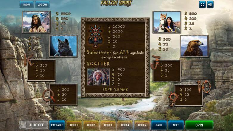Изображение игрового автомата Falcon Spirit 3