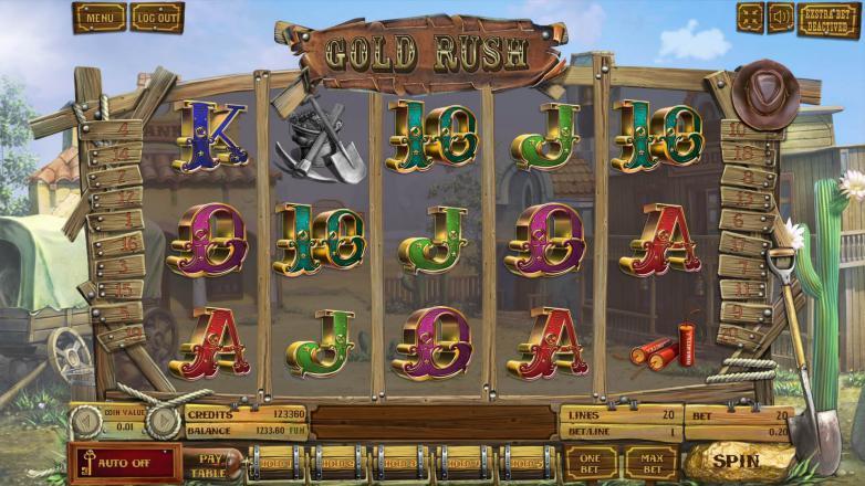 Изображение игрового автомата Gold Rush 2