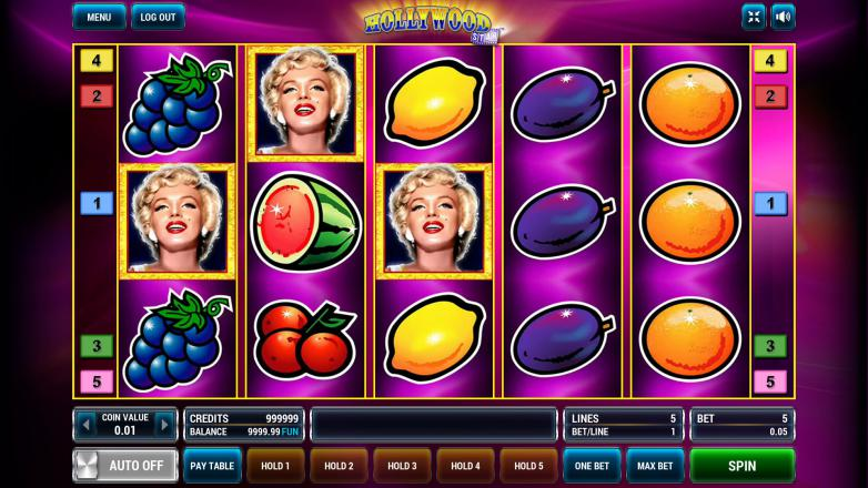 Изображение игрового автомата Hollywood Star 2