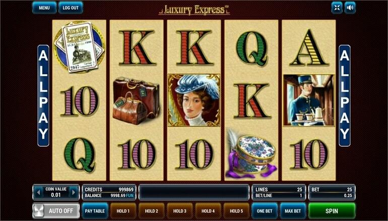 Изображение игрового автомата Luxury Express 1