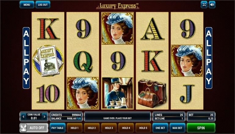Изображение игрового автомата Luxury Express 2