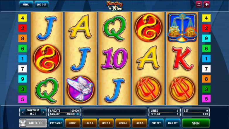 Изображение игрового автомата Naughty 'n' Nice 2