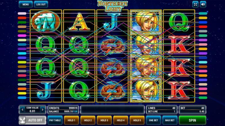 Изображение игрового автомата Northern Light 1