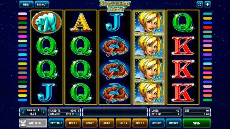 Изображение игрового автомата Northern Light 2