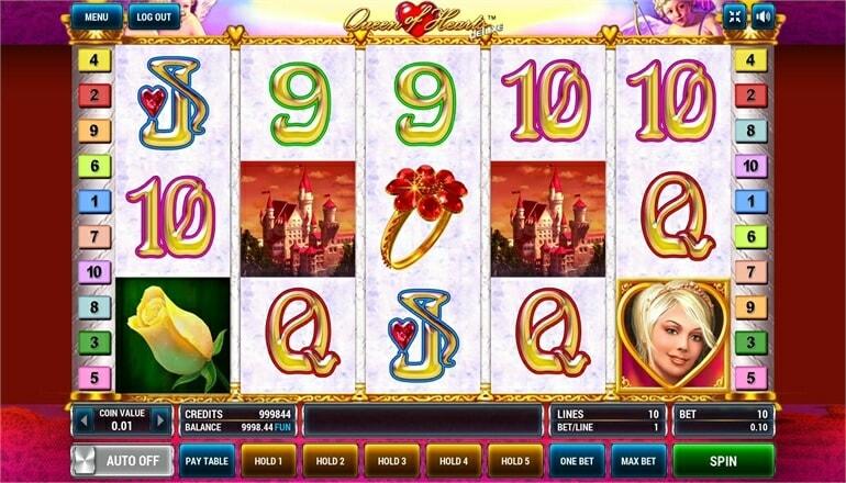 Изображение игрового автомата Queen of Hearts Deluxe 2