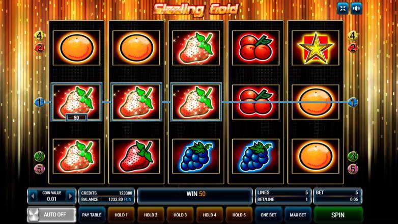Изображение игрового автомата Sizzling Gold 2