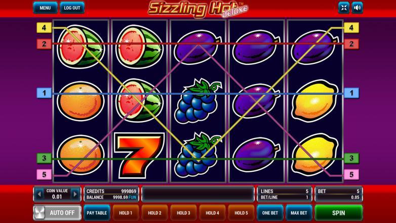 Изображение игрового автомата Sizzling Hot Deluxe 1