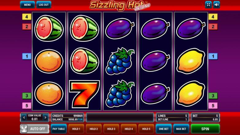Изображение игрового автомата Sizzling Hot Deluxe 2
