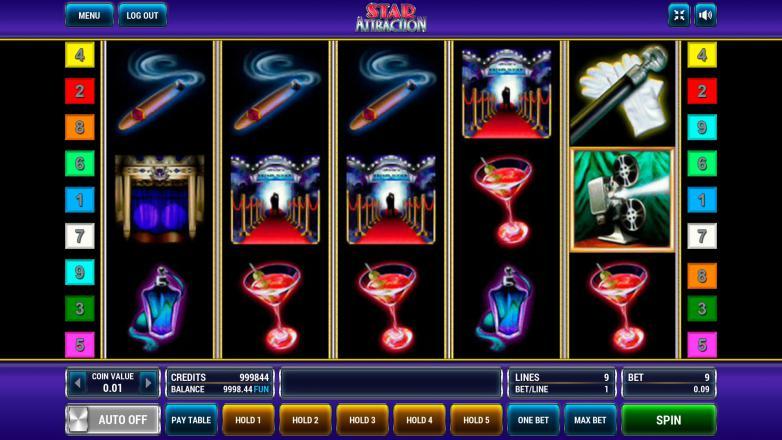 Изображение игрового автомата Star Attraction 2